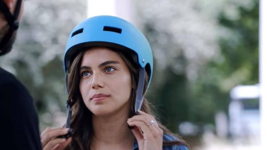 """שלומית מלכה בקמפיין למשרד התחבורה, צילום: יח""""צ/ צילום מסך"""
