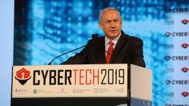 ראש הממשלה בנימין נתניהו בכנס סייברטק, צילום: חיים צח לע''מ