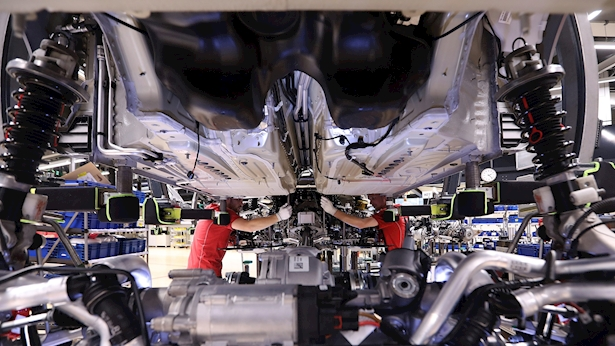 תעשיית הרכב בגרמניה, צילום: בלומברג