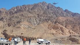 חילוץ גופת מטייל במדבר, צילום: משטרת ישראל