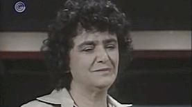 """ראומה אלדר ז""""ל, צילום: מסך: ערוץ 1"""