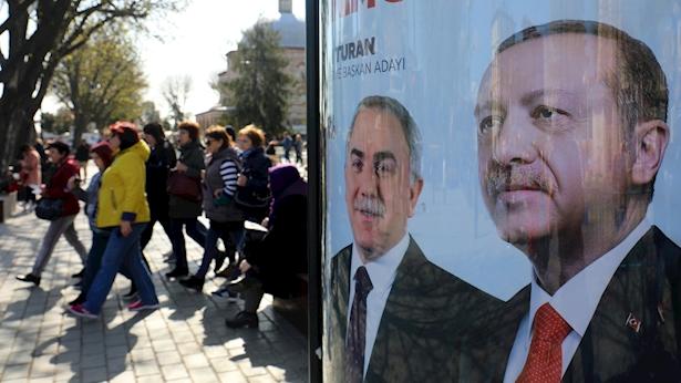 Erdogan, צילום: בלומברג