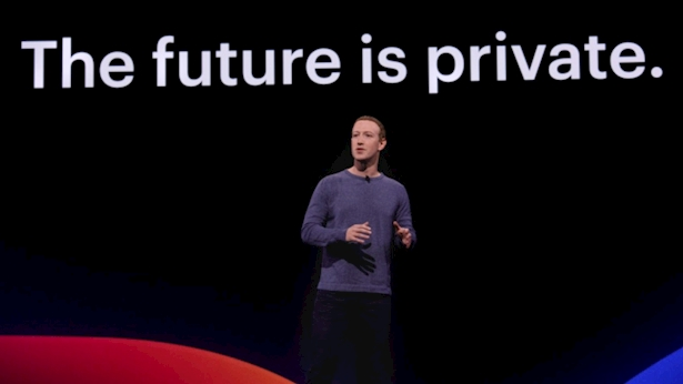 מארק צוקרברג באירוע ה-F8, צילום: יחסי ציבור