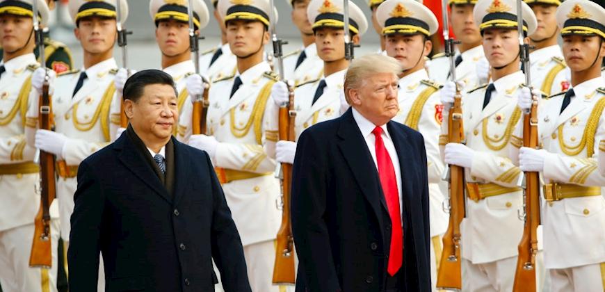 טראמפ ונשיא סין, צילום: getty images pool