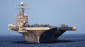 USS Abraham Lincoln, צילום: בלומברג