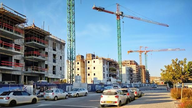 בנייה בשכונת רמות באר שבע, צילום: Istock