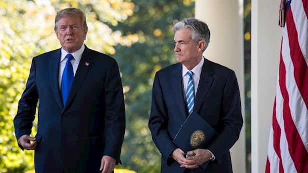 טראמפ ופוואל, צילום: gettyimages