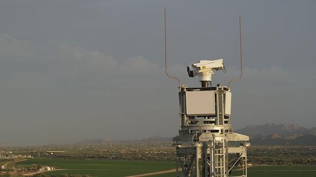 מגדל תצפית אלביט מערכות, צילום: יחצ