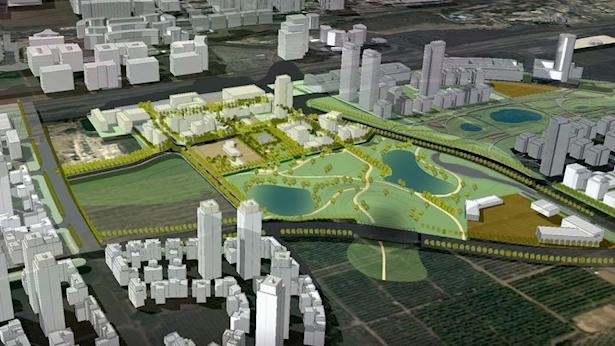 תכנית בין ערים הרצליה. הדמיה, צילום: נעמה מליס אדריכלים