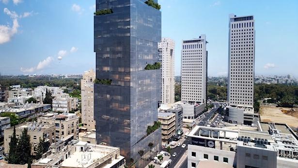 מגדל משרדים, צילום: OLIN