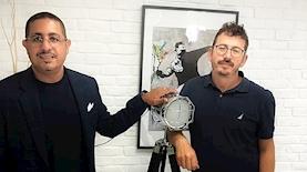 אלמוג בייסברג וגילי כהן, צילום: יחסי ציבור