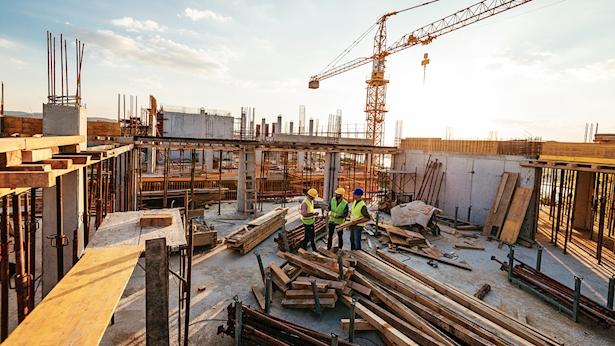 אתר בנייה, צילום: Istock