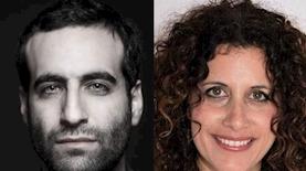 דפנה גיא-שטגמן ושראל דניר, צילום: יחסי ציבור