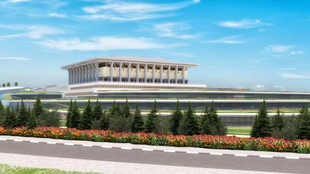 הדמיה כנסת ישראל החדשה, צילום: משרד פלג אדריכלים