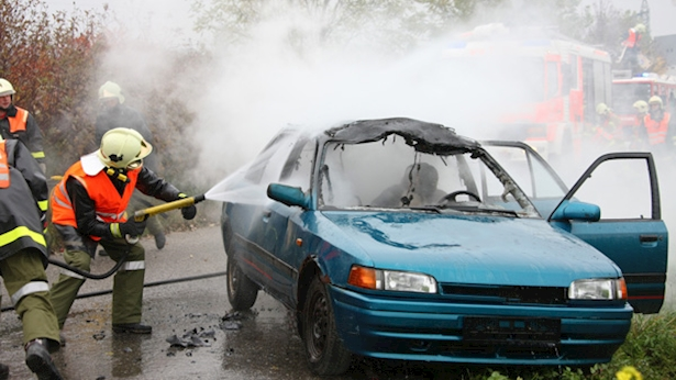 רכב שרוף, צילום: fotolia