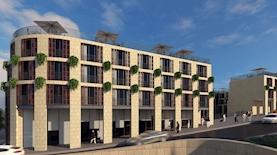 הדמיה מלון פנינת ירושלים, צילום: משרד פייגין אדריכלים