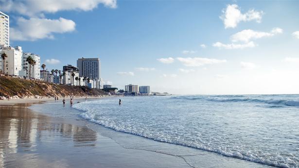 חוף בת ים, צילום: Getty images Israel