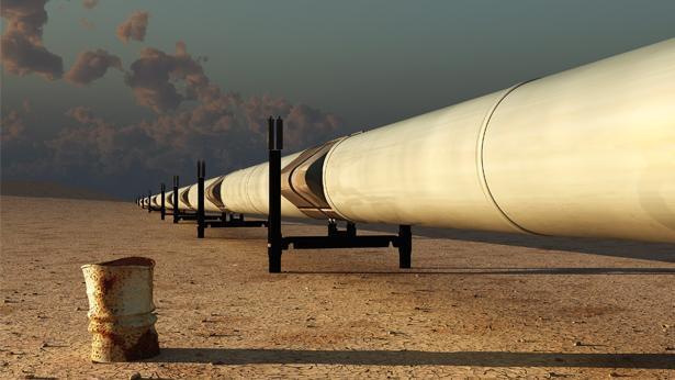צינור מוביל גז