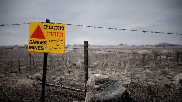 שדה מוקשים, צילום: Getty images Israel