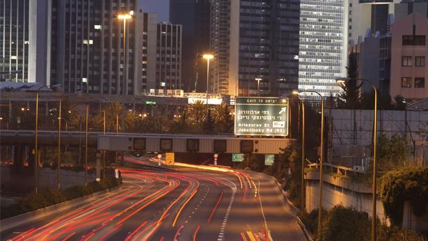 נתיבי איילון, צילום: Getty images Israel