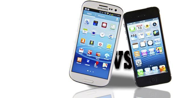 אייפון VS גלקסי, צילום: Getty image Israel