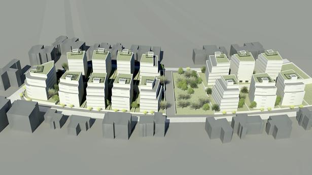 פינוי בינוי ירושלים, צילום: ארכטיק אדריכלים ומתכנני ערים