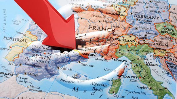 אירופה ירידות