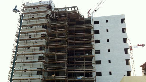 בבניין בבנייה, צילום: Bizportal
