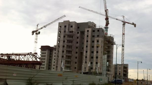 בניין בבנייה, צילום: Bizportal