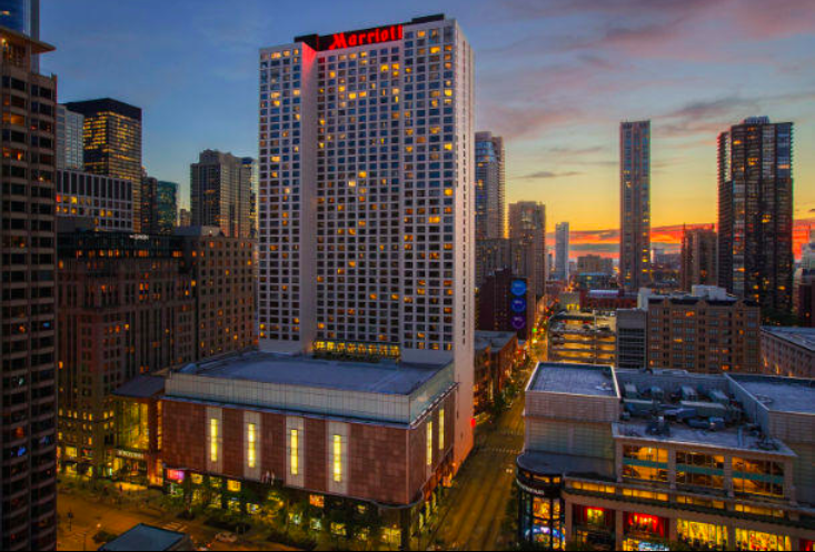 Photo of the Chicago Marriott Downtown Magnificent Mile hotel