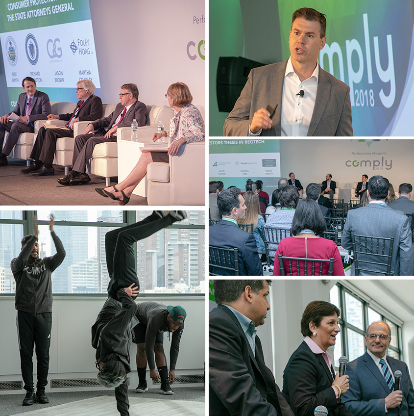 COMPLY2018 conference highlights