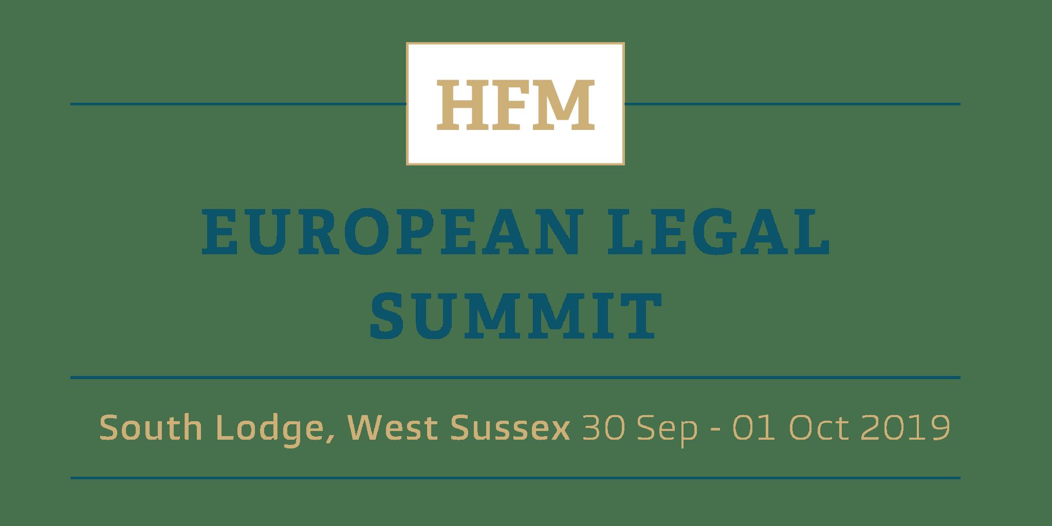 Attendee List   HFM European Legal Summit 2019