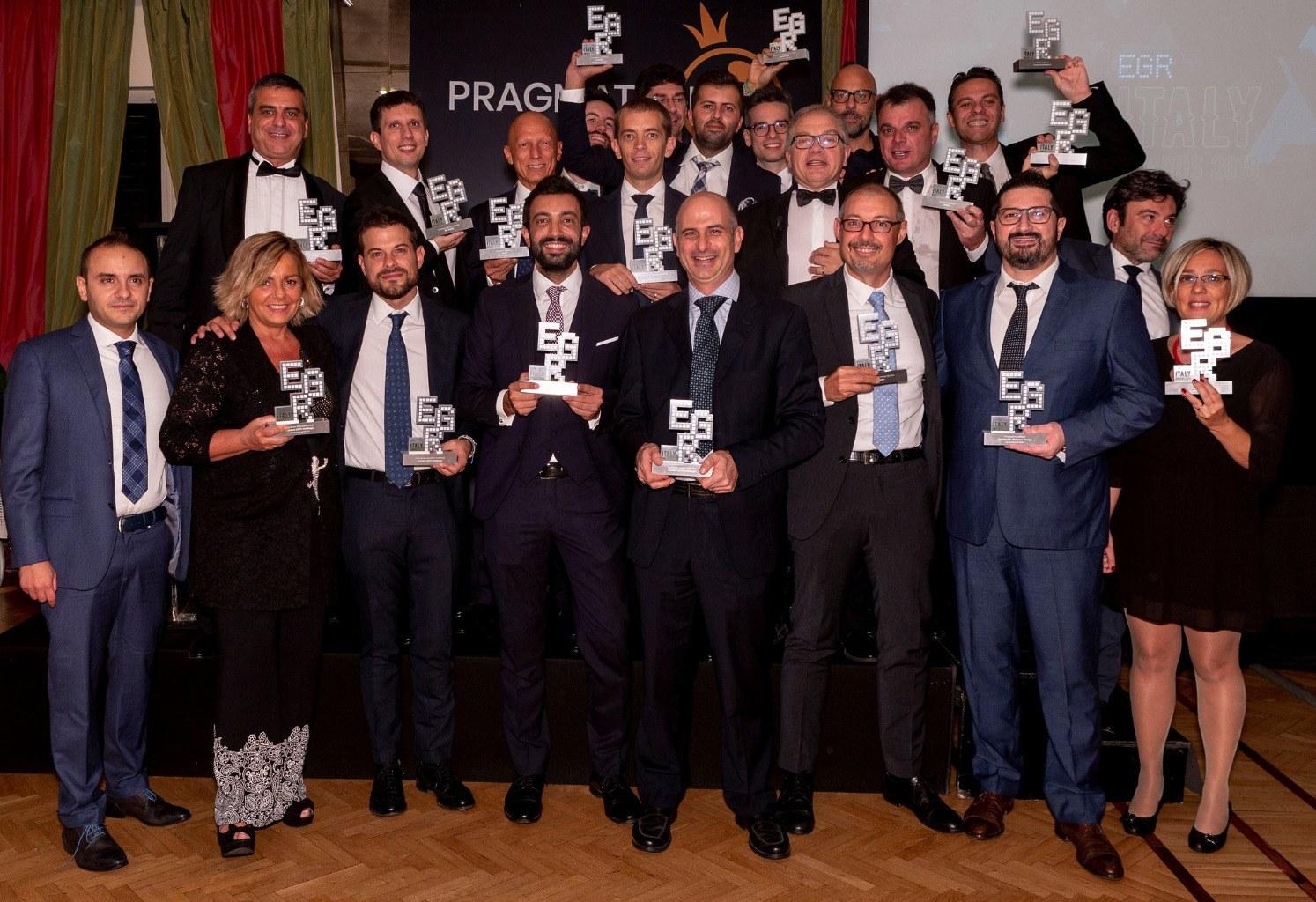The 2015 EGR Online Gambling Award Winners Announced