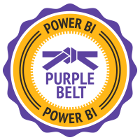 Power BI Purple Belt Badge