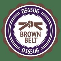 D365 Brown Belt Badge
