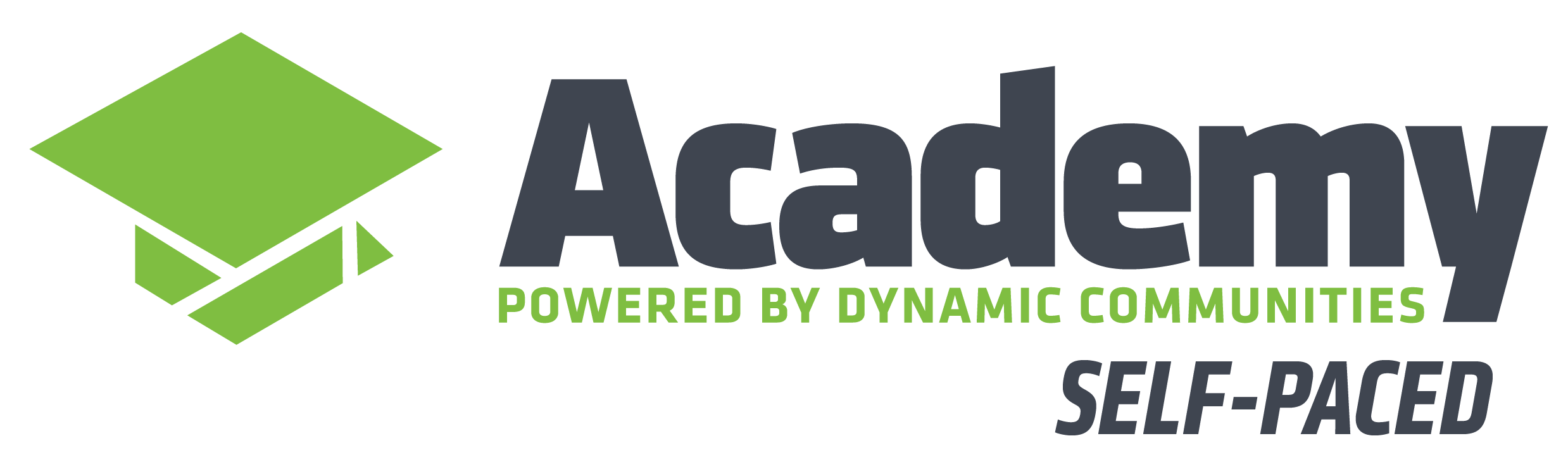 Self-Paced Academy powered by Dynamic Communities logo