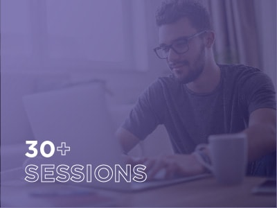 30+ sessions