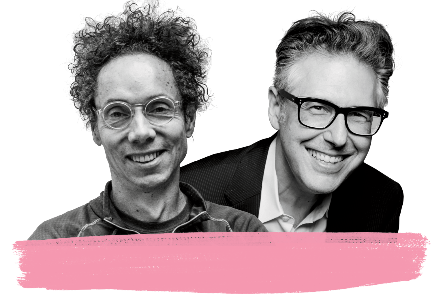 Malcolm Gladwell and Ira Glass