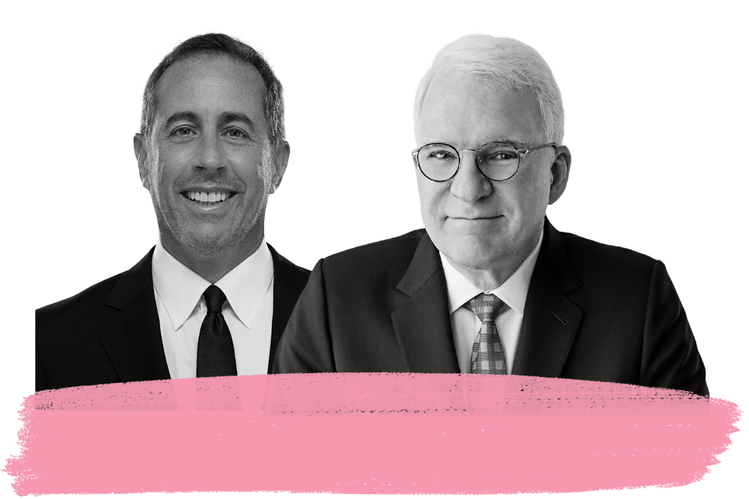 Jerry Seinfeld and Steve Martin