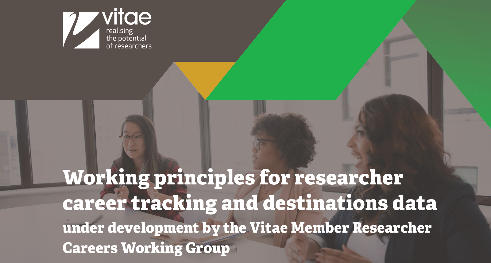 Working principles for researcher career tracking
