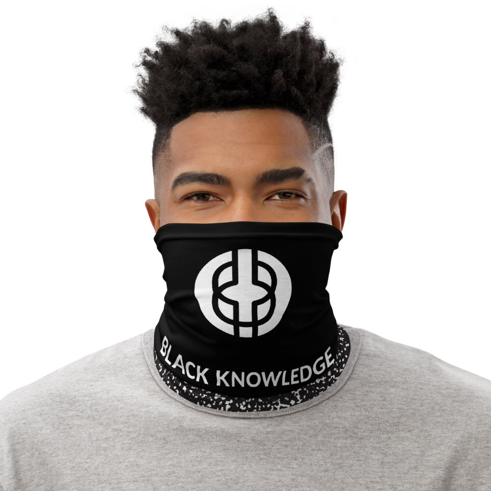 Black Knowledge Neck Gaiter