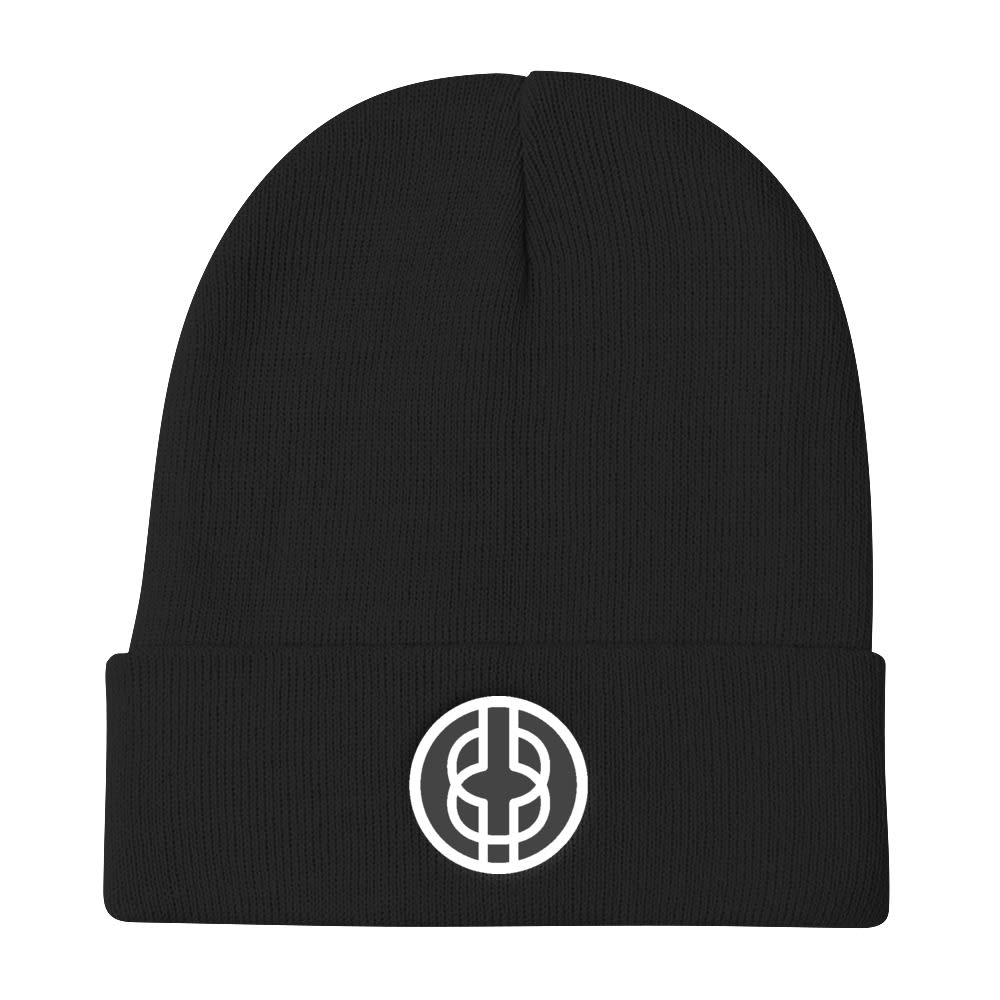Black Knowledge Symbol Beanie
