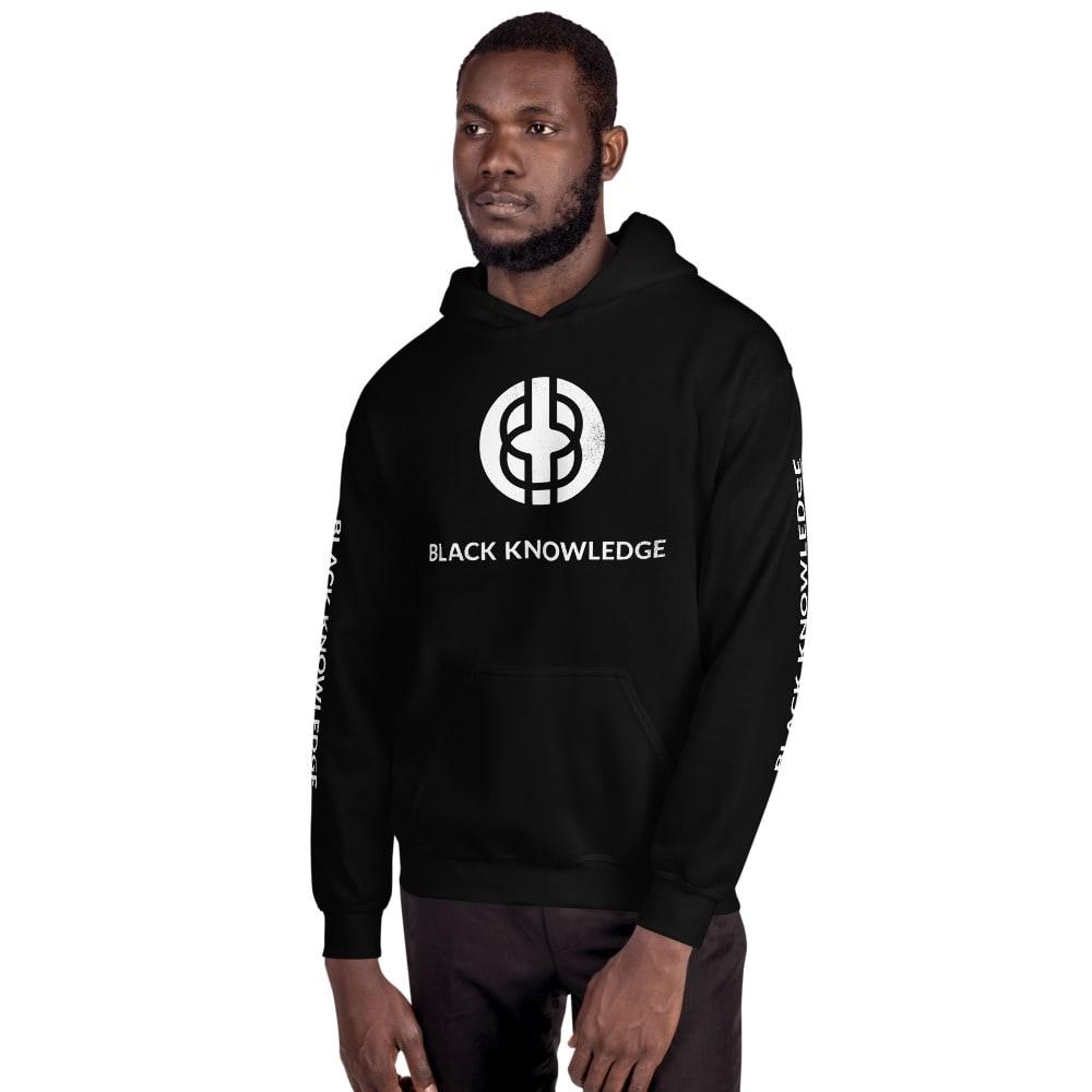 Black Knowledge Logo Hoodie