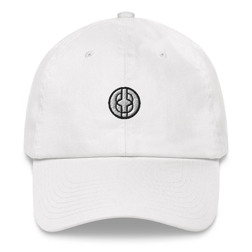 Black Knowledge Symbol Light Colored Dad hat