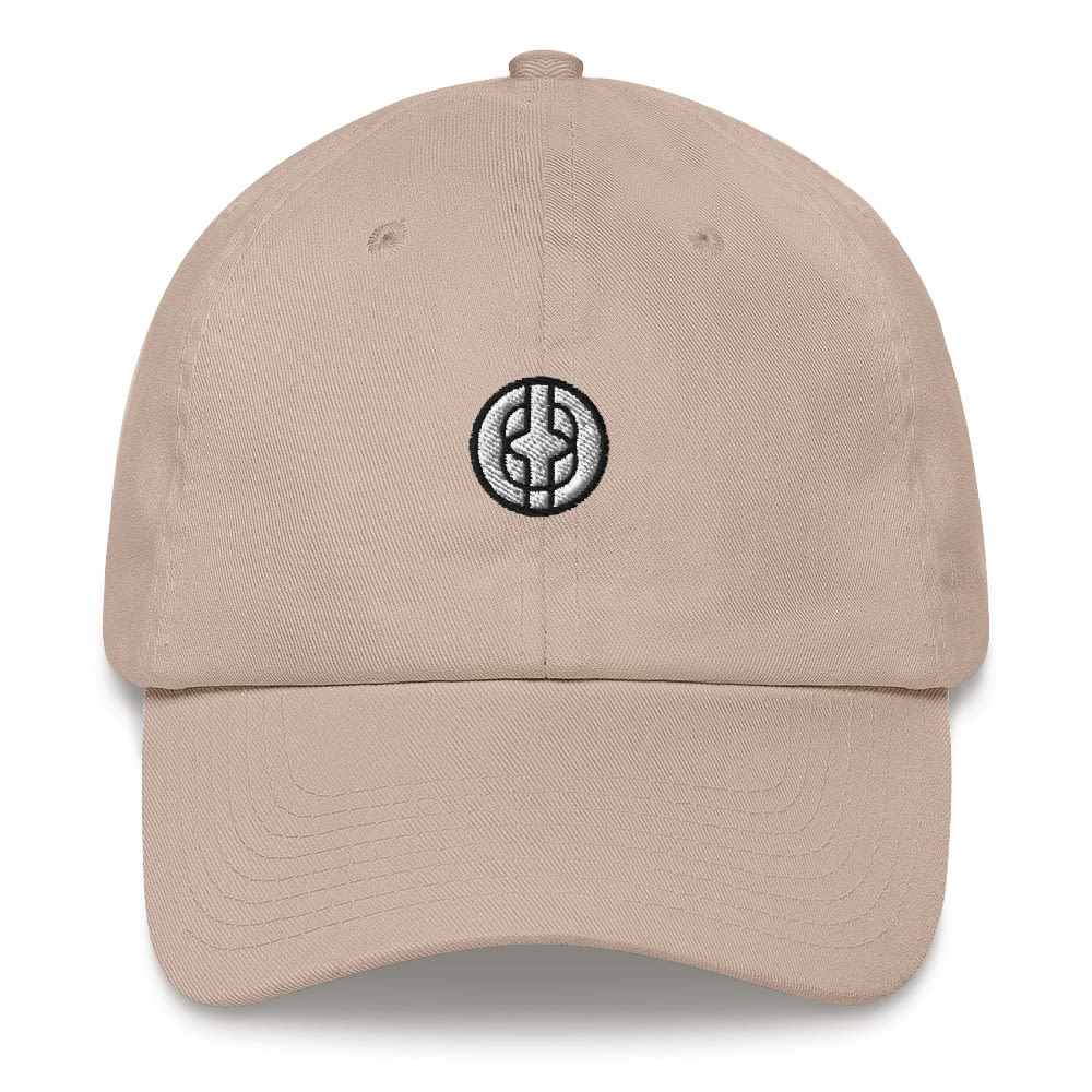 Women's Black Knowledge Symbol Dad Hat