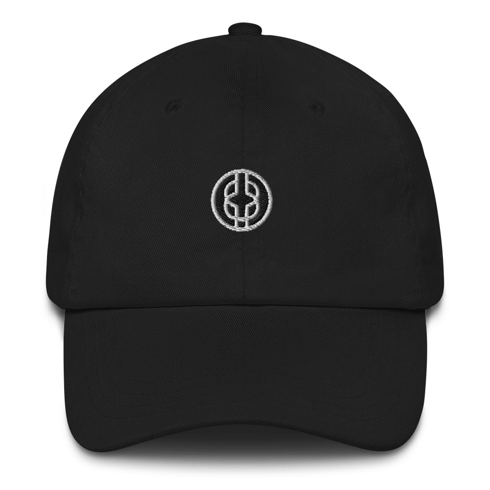 Black Knowledge Symbol Dark Colored Dad hat