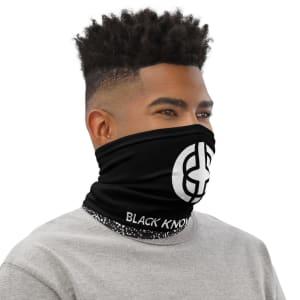 Black Knowledge Neck Gaiter