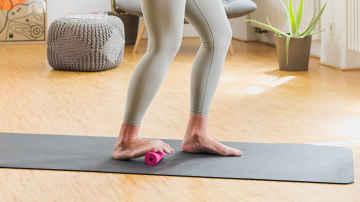 Einschlafprobleme Fußmassage