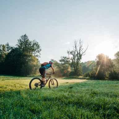 Übungsroutinen für Radsportler
