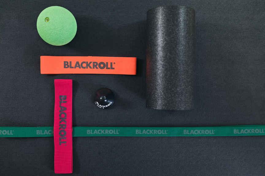 Blackroll Produkte gegen Läuferknie